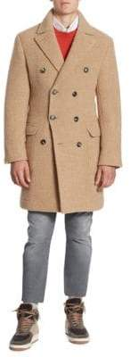 Brunello Cucinelli Double-Breasted Overcoat