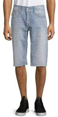 True Religion Frayed Cut-Off Shorts