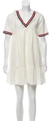 BA&SH Short Sleeve Casual Dress