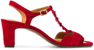 Chie Mihara buckled ruffle sandals