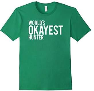 Hunter World's Okayest t-shirt