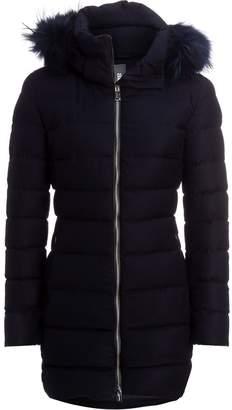 ADD Duck Down Wool Hooded Coat - Women's