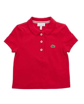 Lacoste Pleated Back Polo