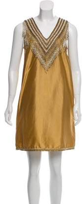 Calypso Silk Tent Dress