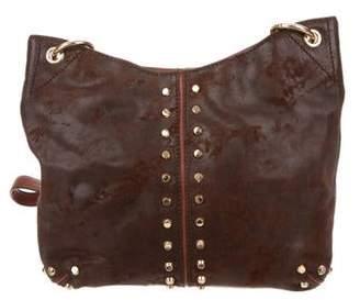 MICHAEL Michael Kors Studded Leather Satchel