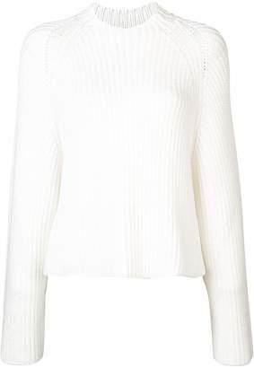Rosetta Getty ribbed knit sweater