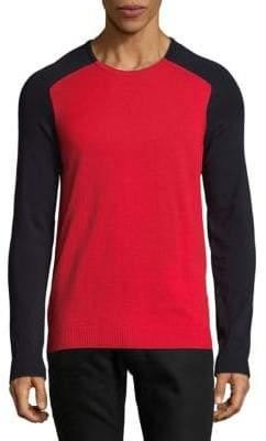 HUGO BOSS Two-Toned Sweatshirt