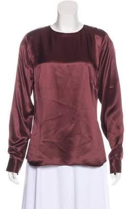 Paul & Joe Silk Long Sleeve Blouse