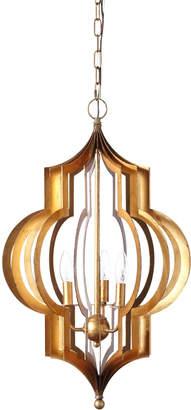 Regina-Andrew Design Regina Andrew Design Pattern Makers Large Golden 3-Light Pendant