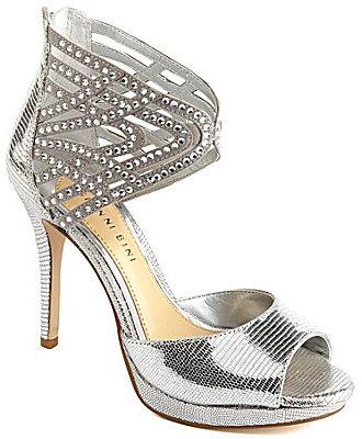 Gianni Bini Chalice Jeweled Dress Sandals