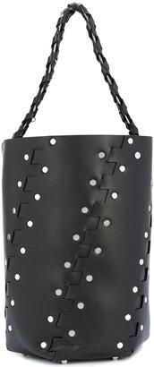 medium Hex bucket bag