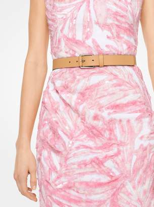 Michael Kors Leather Skinny Belt