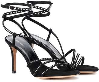 Isabel Marant Ampsee crystal embellished sandals