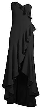 Shoshanna Women's Maye Ruffle Gown - Size 0