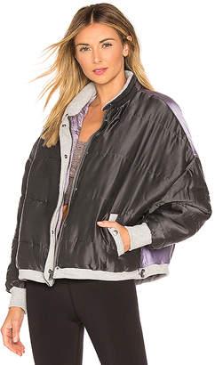 Free People Zamo Varsity Jacket