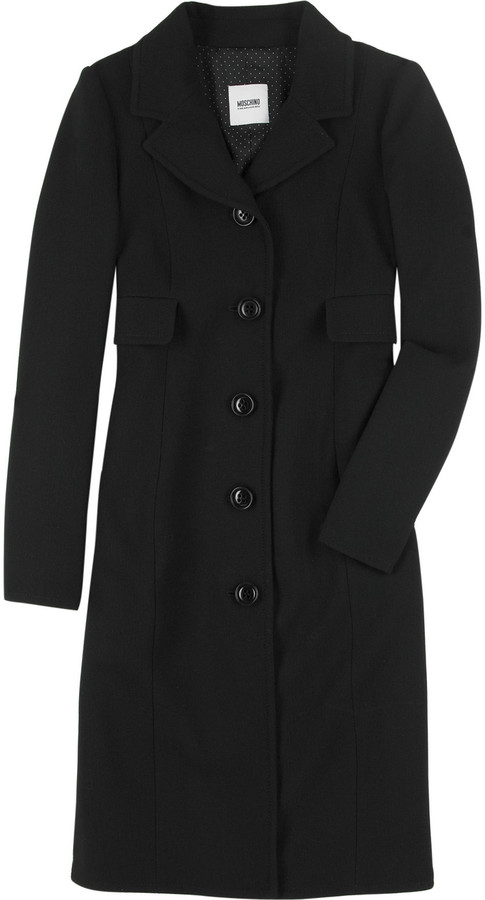 Moschino Cheap & Chic Wool crepe coat