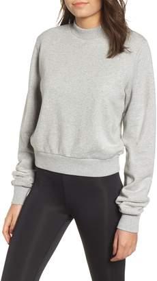 KENDALL + KYLIE Open Back Sweatshirt