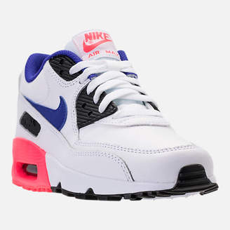 Nike Kids' Grade School 90 Leather Running Shoes