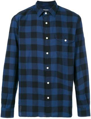 Woolrich long sleeved checked shirt