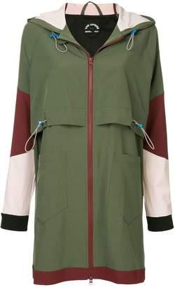 The Upside a hooded zipped jacket