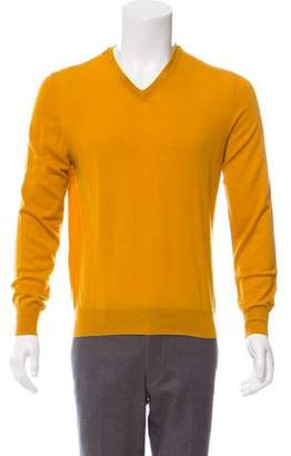 Lanvin Cashmere V-Neck Sweater
