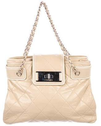 Chanel Quilted Leather E/W Tote