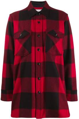 Woolrich checked pattern shirt