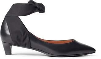 Ralph Lauren Sabryna Leather Ankle-Tie Pump