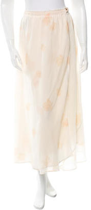 Boy. by Band of Outsiders Floral Print Maxi Skirt w/ Tags $195 thestylecure.com