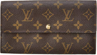 Louis Vuitton Monogram Canvas Porte-Monnaie Credit Wallet