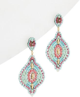Miguel Ases 18K Plated & 14K Filled Gemstone & Crystal Drop Earrings
