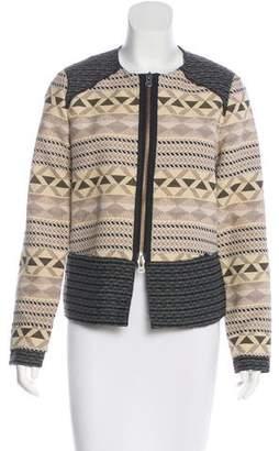 DAY Birger et Mikkelsen Patterned Zip-Up Jacket