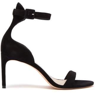 Sophia Webster Nicole Suede Sandals - Womens - Black