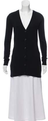Michael Kors Cashmere Button-Up Sweater Dress