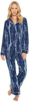 BedHead Long Sleeve Classic Stretch Knit Pajama Set Women's Pajama Sets