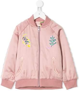 Stella McCartney Palm leaf reversible jacket