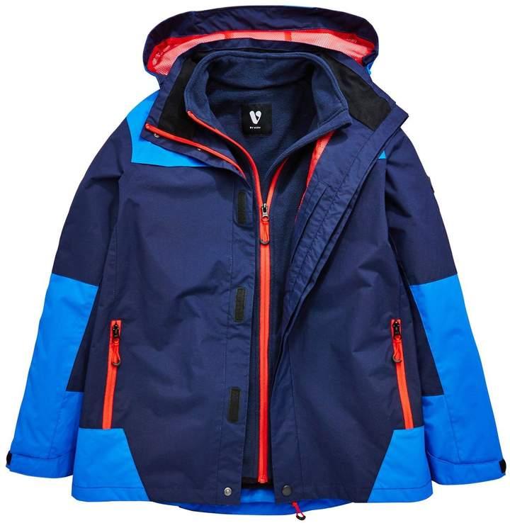 Boys 2-in-1 Jacket with Fleece
