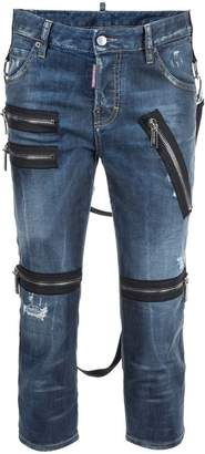 DSQUARED2 'Cool Girl' cropped jeans
