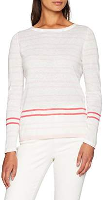 Crew Clothing Women's Holbeck Jumper (Pink/Coral/White)