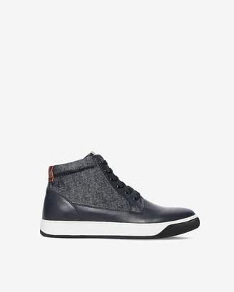 Express Denim High-Top Sneakers