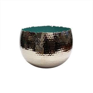 Mela Artisans Holi Extra Large Turquoise Bowl