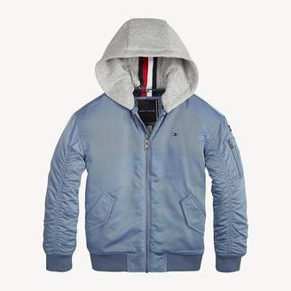 Tommy Hilfiger Hooded Bomber Jacket
