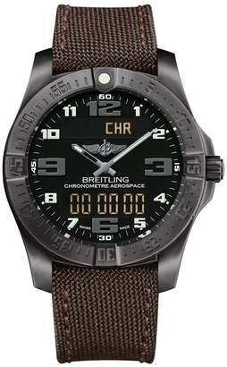 Breitling Titanium Professional Aerospace Evo Watch 43mm