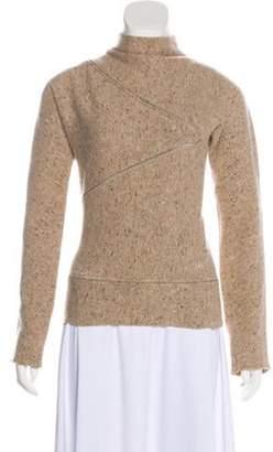 Stella McCartney Wool Knit Sweater Beige Wool Knit Sweater