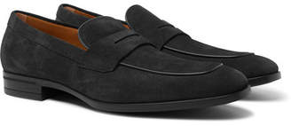 HUGO BOSS Kensington Suede Penny Loafers