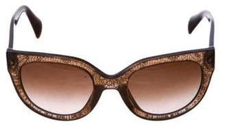 Prada Swing Cat-Eye Sunglasses