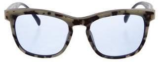 Italia Independent Matte Tortoiseshell Sunglasses