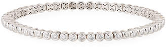 Neiman Marcus Diamonds 18k White Gold Diamond Flex Bracelet