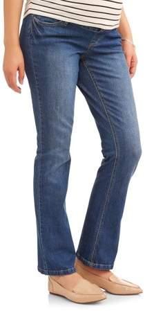 Planet Motherhood Full-Panel 5-Pocket Bootcut Maternity Jeans