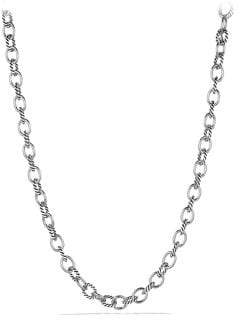 David Yurman Oval Medium Link Necklace